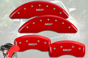 2014 2019 Toyota Highlander Front Rear Red Mgp Brake Disc Caliper Covers 4pc