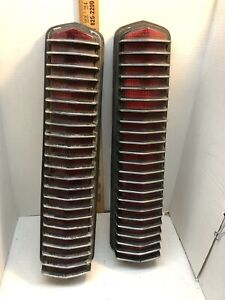 1967 1968 Mercury Cougar Tail Lights Assembly Also Fits Mustang Shelby