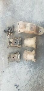 Chevy 292 Block Motor Mounts plus Passager Side Truck Frame Mount
