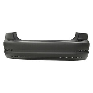 Vw1100222 New Replacement Rear Bumper Cover Fits 2019 2020 Volkswagen Jetta