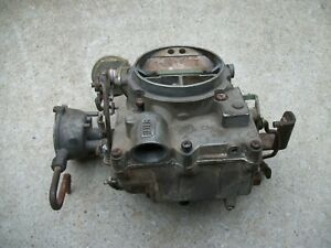 1971 2 Oldsmobile Cutlass Toronado F85 Rochester 2 Barrel Carburetor 7041159