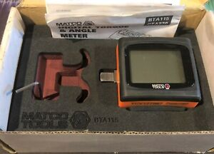 Matco Tools Bta115 3 8 Drive Torque And Angle Meter
