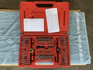 Snap on Tdtdm500a 76 piece Tap Die Set Missing Two Pieces