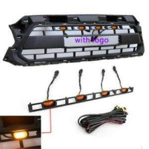 Grill Front Grille For 2012 2013 2014 2015 Toyota Tacoma Trd Pro With Led Lights