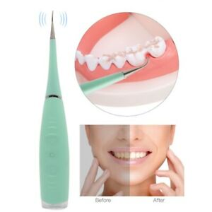 Electric Tooth Cleaner Ultrasonic Oral Irrigator Usb Charging Dental Teeth Care