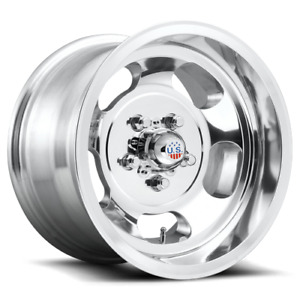 Us Mag 1pc Indy 15x7 5x127 High Luster Polished 5mm Wheel Rim