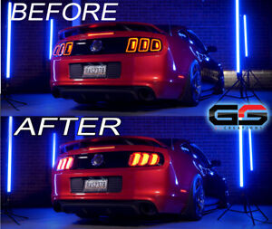 Morimoto Facelift Xb Led Tail Lights Smoked For The 2010 2012 Ford Mustang