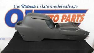 03 Toyota Tundra Extended Cab Front Floor Center Console Gray