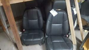 Chevrolet Avalanche 1500 2 Front Seats bucket bench Electric Leather