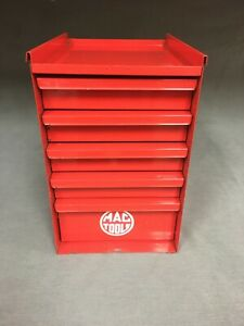 Vintage Small 5 Drawer Side Hanging Side Toolbox Mac Tools Snap On