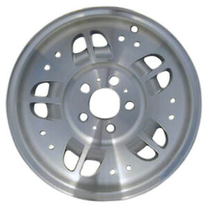03071 Used 15x7 Alloy Wheel Rim Light Sparkle Silver Painted And Machined