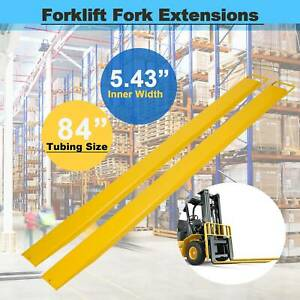 Forklift Pallet Fork Extensions Forklifts And Loaders Truck 84 X 5 8 Heavy Duty
