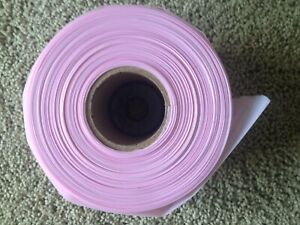 Antistatic Poly Tubing 4 X 500 Feet 4 Mil Pink Color U line S 1535
