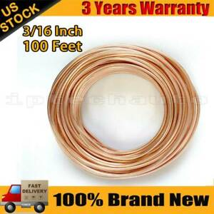 Copper Nickel Brake Line Tubing Kit 3 16 Inch 100ft Coil Roll All Size Fittings