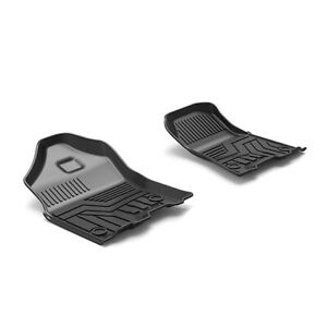 Slush Front Floor Mats Liners Tpe For 19 20 Dodge Ram 1500 Crew Cab All weather