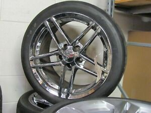 Custom Italian Made Corvette Racing Rims With Tires Set Of 4