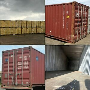 20ft 40ft Used Wind Watertight Shipping Containers baltimore From 1500