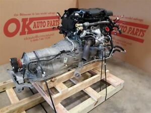 2 3 Ecoboost Engine 6 Speed Auto 6r80 Transmission 2015 Ford Mustang Pullout