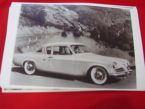 1953 Studebaker Commander Starliner Coupe 11 X 17 Photo Picture