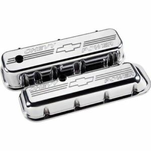 Billet Specialties 96122 Tall Valve Covers For Chevy Big Block New