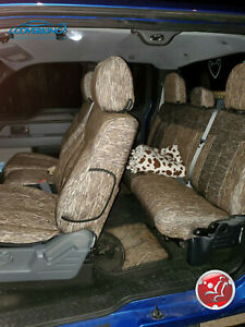 Mossy Oak Bottomland Camo Tailored Seat Covers For Dodge Ram Made To Order