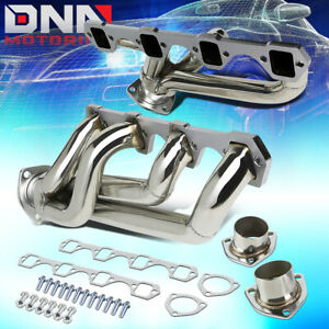 For 64 77 Mustang 302cu 5 0 Stainless Shorty Performance Header Exhaust Manifold