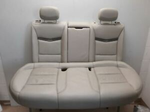 14 2014 Cadillac Xts Platinum Oem Rear Seat Assembly Heated Gray Leather