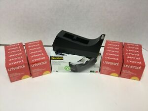 Scotch Tape Desktop Dispenser With Universal Invisible Tape 24 Rolls 3 4 X 1000