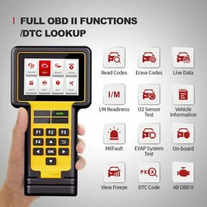 Thinkscan Obd2 Scanner Car Diagnostic Tool With Epb Tpms Oil Reset Obd2 Function