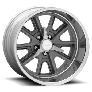 American Racing Vintage 427 18x8 5x114 3 00 72 60 Two Piece Mag Gray Center