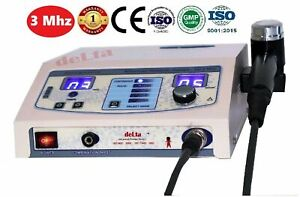Ultrasound Therapy 3 Mhz Pain Relief Deep Heat Ultrasonic Physiotherapy Machine