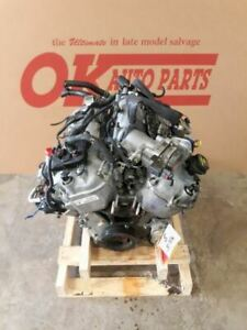 13 2013 Ford Taurus Sho 3 5l Twin Turbo Engine Motor Assembly
