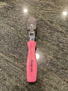 Snap On 3 8 Stubby Ratchet Pink Hard Handle Fhkfd80a