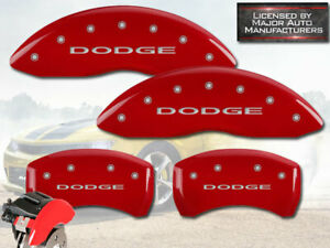 2011 2020 Dodge Charger Se Sxt Br3 Front Rear Red Mgp Brake Caliper Covers