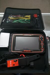 Snap On Eems341 Modis Edge Diagnostic Scan Tool 19 4 With Low Amp Probe