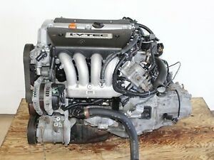03 07 Honda Accord Element Engine Motor 5 Spd Manual Transmission K24a 4 Cyl 2 4