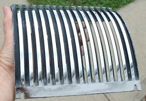 1949 1950 Chevrolet Dashboard Chrome Radio Speaker Grille Gm 3693558 Oem
