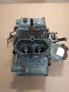 Holley 4bbl Carburetor B9te 9510g List 1860 1 Untested For Parts Only