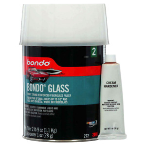 Bondo Body Filler Glass Fiberglass Reinforced 3m 272 Dent And Rust Out Repairs