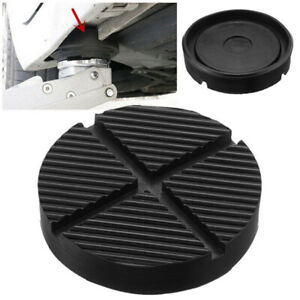 Universal Car Cross Slotted Frame Rail Floor Jack Rubber Pad Adapter For We Axb