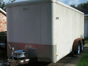 2006 Pace American Journey 16 x7 x7 Enclosed Cargo Trailer W Ramp houston Tx
