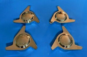 New Set Of 4 Knock Off Knockoff Nuts Wire Wheels Mg Td Tf Mga 12 Tpi 3 Eared