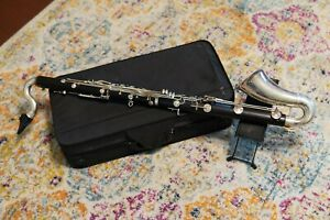 Vintage Buffet Bass Clarinet with case and stand