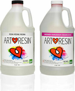 Artresin Epoxy Resin Clear Non toxic 1 Gal 3 78 L New