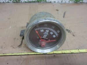 Old Vintage Seatronics Si Tachometer Tach 8000 Rpm Rat Rod Chevy Ford Dodge
