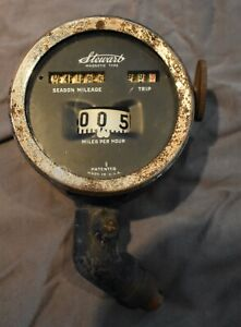 Stewart Magnetic Type Speedometer 1920 s 1930 s Adapter Included Works