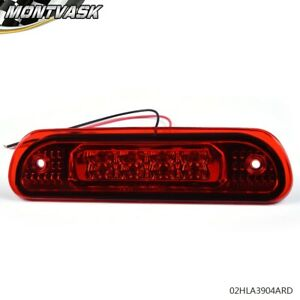 Red Led Rear 3rd Third Brake Light Cargo Lamp For 1999 2004 Jeep Grand Cherokee