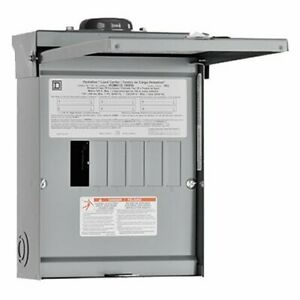 Square D By Schneider Electric Hom612l100rbcp Homeline 100 Amp 6 space 12 circui
