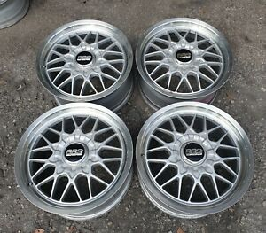 Jdm 17 Bbs Mesh Rg Rs Wheels Rims For Sxe10 Dc2 Z32 Z31 240sx 180sx S13