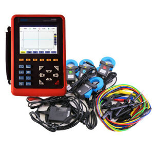 Power Quality Analyzer Meter Three Phase Power Energy Meter Etcr5000 0 1a 100a